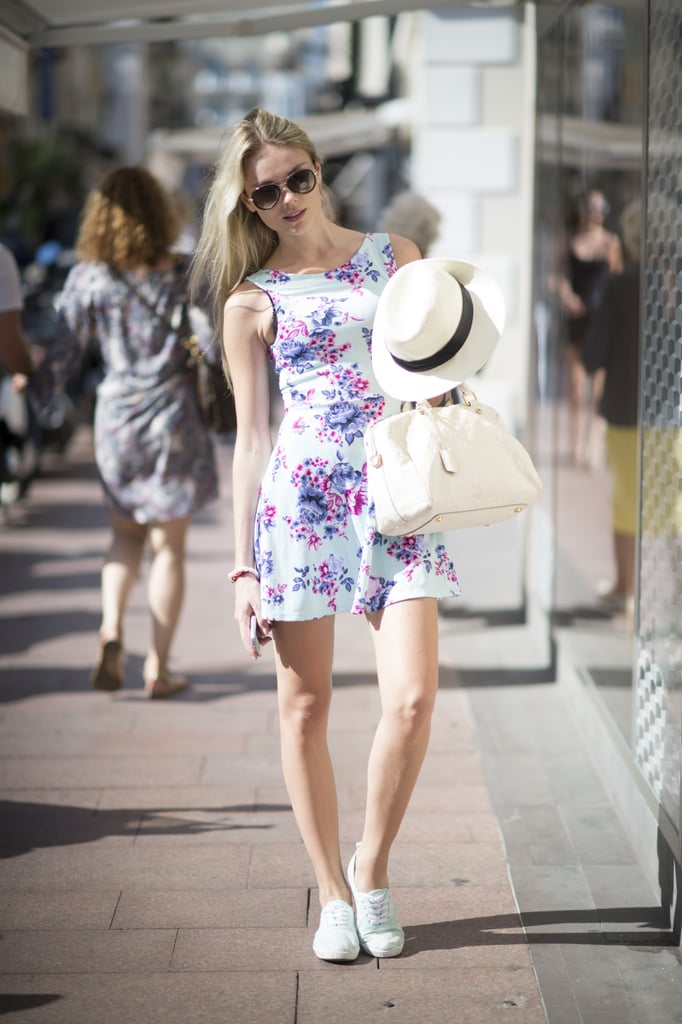 A panama hat is a must-have accessory for warmer weather.