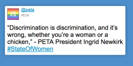 PETA Likens Women To Chickens In Terribly Misguided Tweet