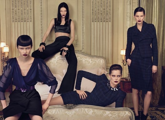 Victoria's Secret Model Adriana Lima Stars in Givenchy's Fall/Winter 2009 Ad Campaign