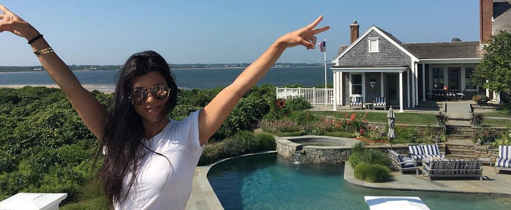 Kourtney Kardashian Just Snagged the Ultimate Family Vacation Home