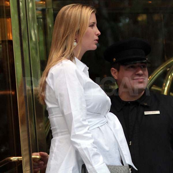 Ivanka Trump Steps Out With Her Big Bump One Month Ahead of Her Due Date