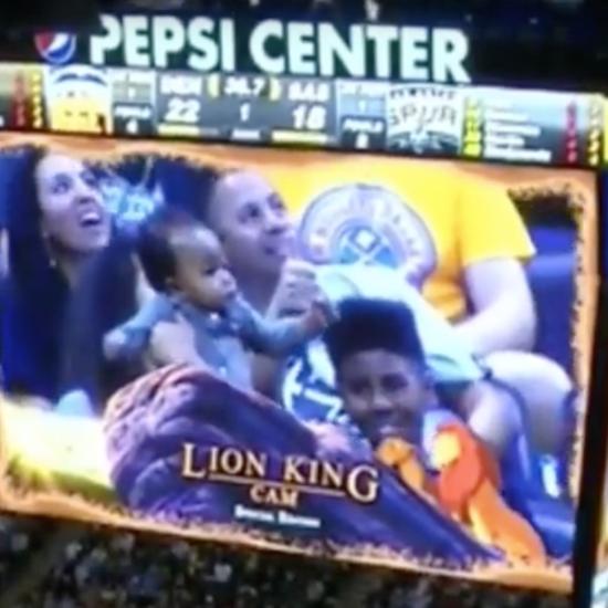 Denver Nuggets Lion King Cam Video