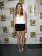 Elizabeth Olsen wore a Pre-Spring 2014 Balenciaga top and shorts along with Robert Clergerie heels to a preview of Godzilla.