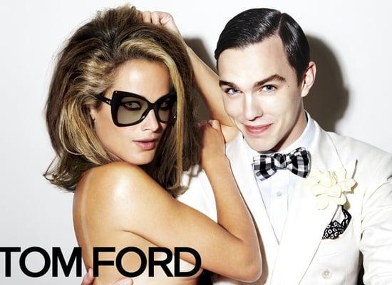 Nicholas Hoult for Tom Ford Eyewear Spring 2010