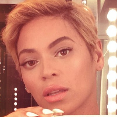 Beyonce Knowles's Short Haircut   Pictures
