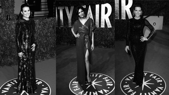 Jessica Biel, Lea Michele, and Elizabeth Banks Best Dressed at the 2011 Vanity Fair Oscar Party