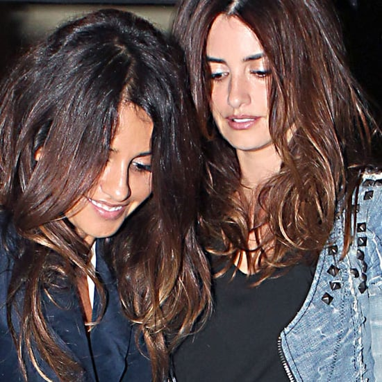 Penelope Cruz and Javier Bardem's Family Dinner in Madrid