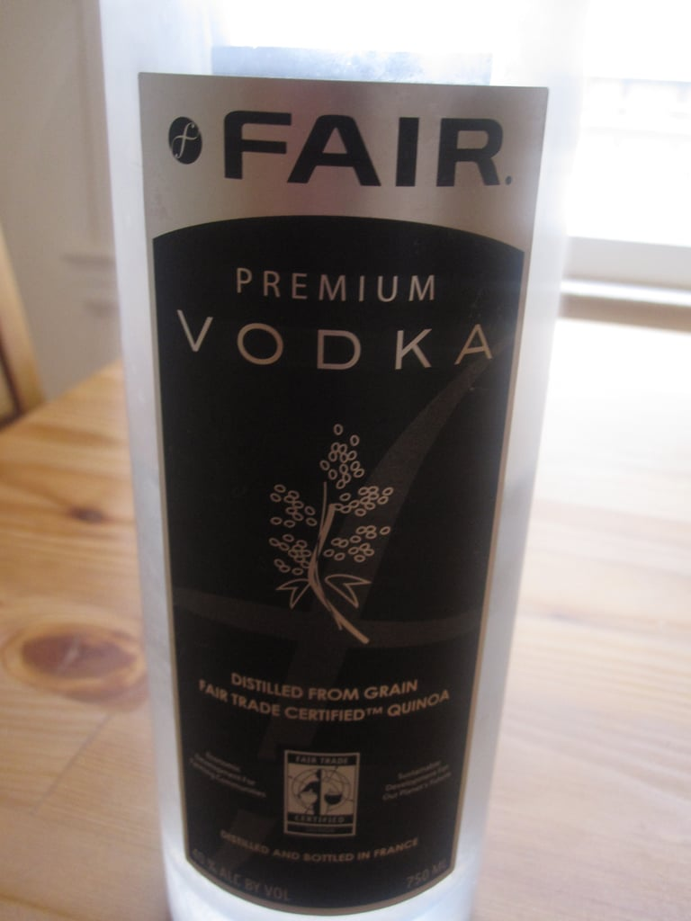 I like the vodka so much that I keep a bottle in my freezer, so it's always ready for martinis.