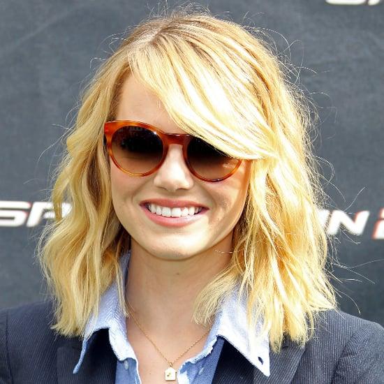 Emma Stone Debuts Short Bob Haircut  HuffPost