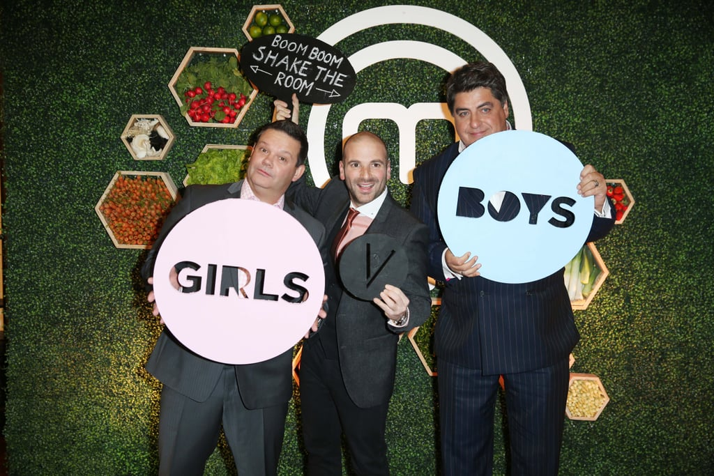 Gary Mehigan, George Calombaris and Matt Preston