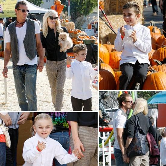 Gwen Stefani and Gavin Rossdale Sneak In Pumpkin Patch PDA