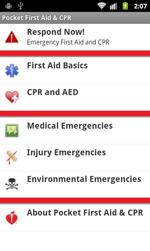 Pocket First Aid & CPR From the American Heart Association