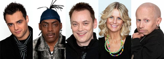 Photos of Celebrity Big Brother 2009 Finalists  Ulrika Jonsson, Verne Troyer, Coolio, Terry Christian, Ben Adams