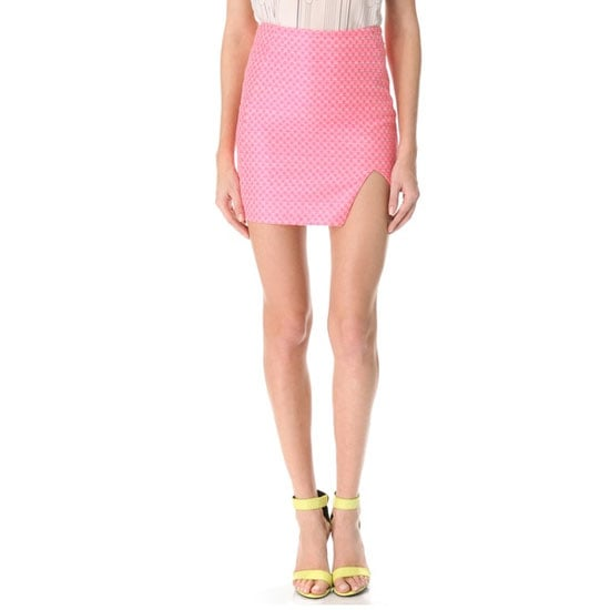 I'm a little bit scared of pink... it always looks a little twee for my liking, but I'm keen to get my hands on this Nicholas skirt. It blends neon pink with baby pink and the overall effect is a bit of an edgier take on the feminine shade. — Genevieve, associate editor  Skirt, approx $290, Nicholas at Shopbop