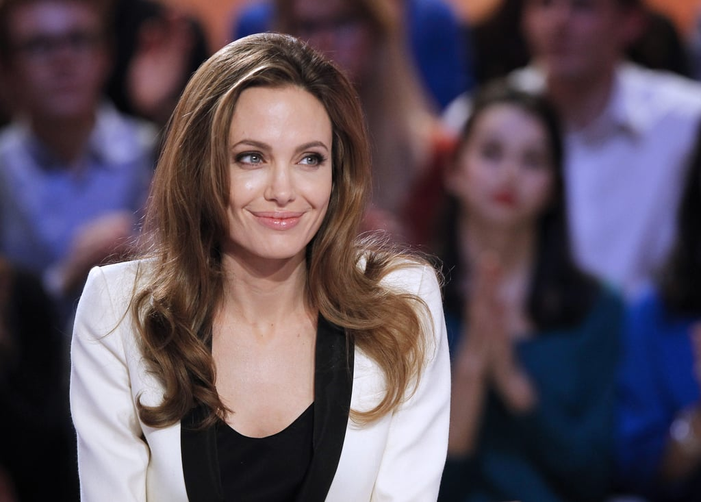 Angelina touched on the topic of her family and the support of her partner, Brad Pitt.
