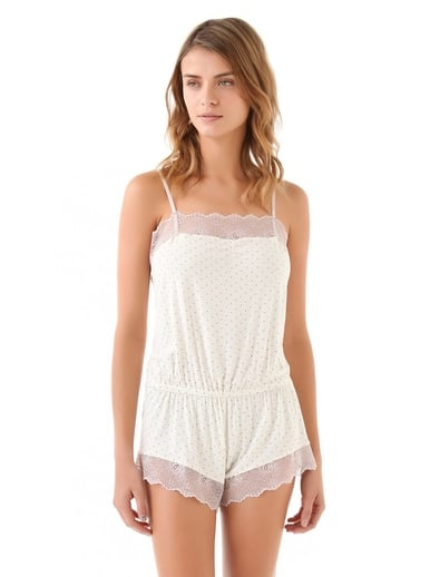 I can think of nothing sweeter than slipping into this Eberjey Dolores Teddy ($80) (and maybe a supersoft robe) to read on weekends around the apartment. You may have to bundle up outside, but there's nothing like something really pretty to wear while you're lounging around at home. — Hannah Weil, associate editor