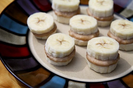 Frozen Nutty Banana Nibbler