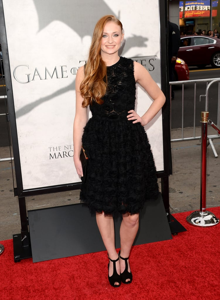 Sophie Turner attended the event.