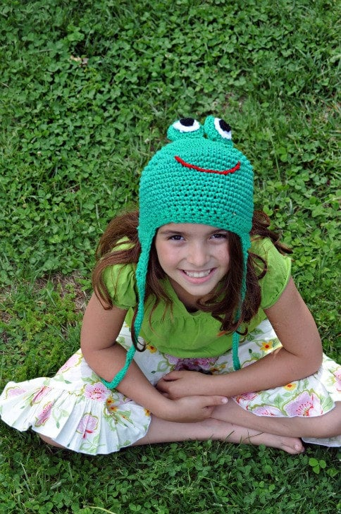 Kermit the Frog Knit Hat