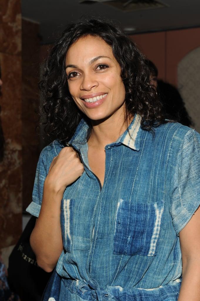 Rosario Dawson: Midlength Curls