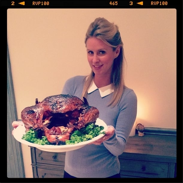 Thanksgiving is all about food, friends, and cozy sweaters — just ask Nicky Hilton.  Source: Instagram user nickyhilton