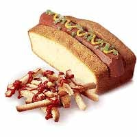 Want Fries With That Hot Dog Cake?