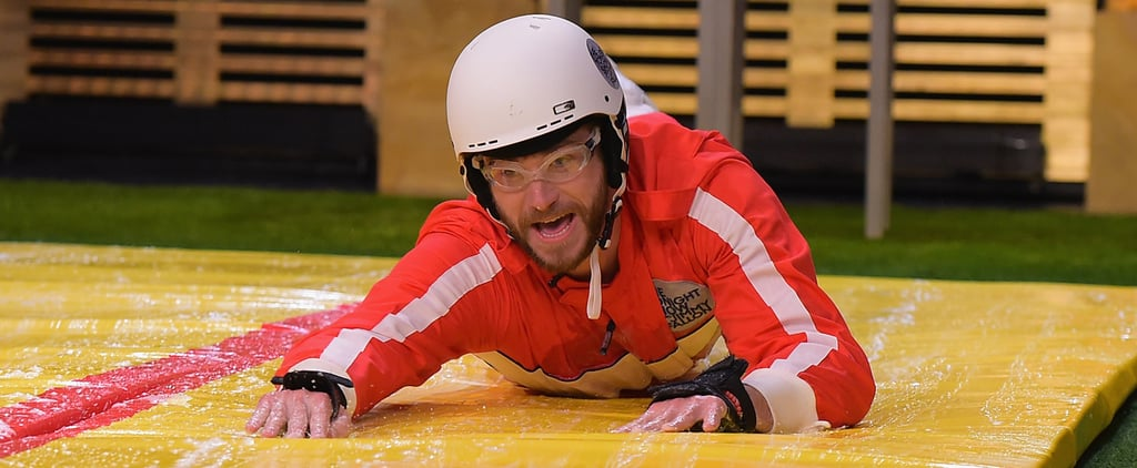 Liam Hemsworth Absolutely Destroys Jimmy Fallon in a Game of Slip and Flip