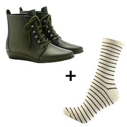 Cute Boots and Socks Combos 2012