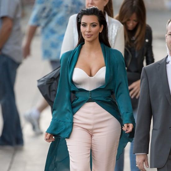 Kim Kardashian Wearing Ulyana Sergeenko Couture