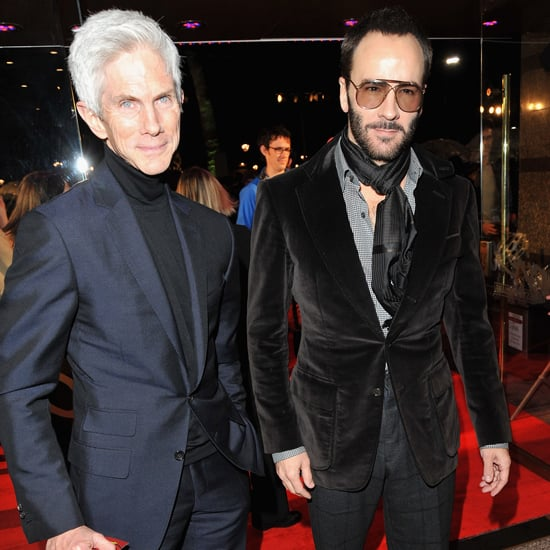 Richard Buckley and Tom Ford