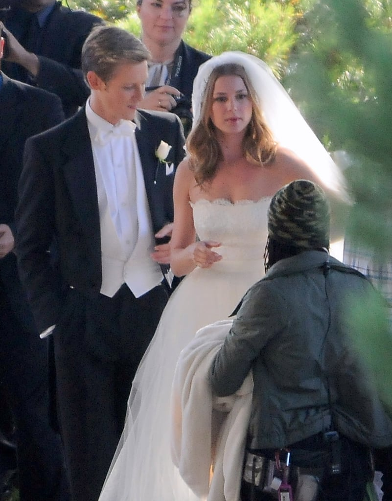 Emily VanCamp Makes a Wicked Beautiful Bride