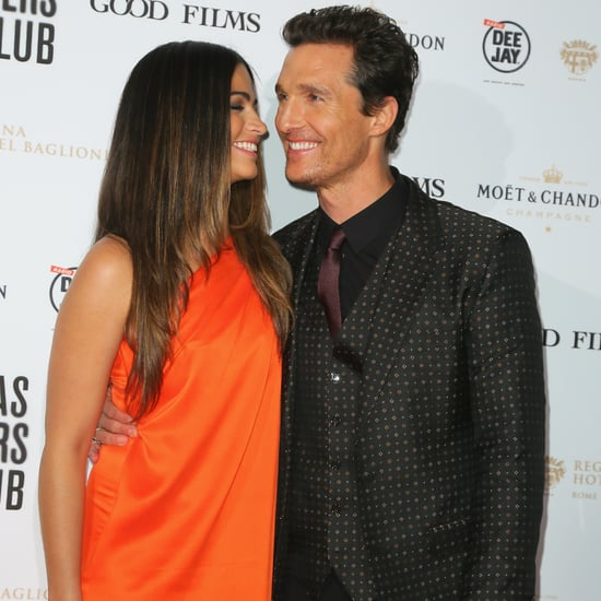 Matthew McConaughey and Camila Alves at Rome Premiere