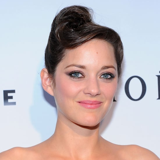 Marion Cotillard's Victory Roll