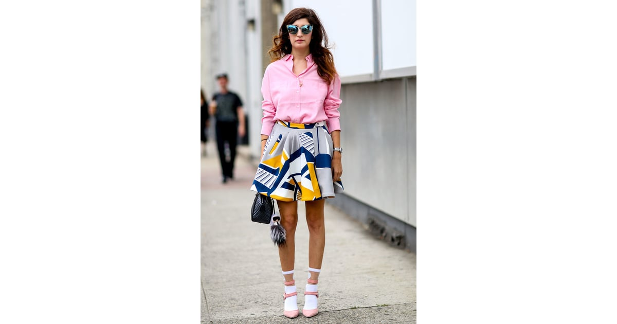 Keep Your Feet Cozy 14 Street Style Fashion Hacks To Try Right Now Popsugar Fashion