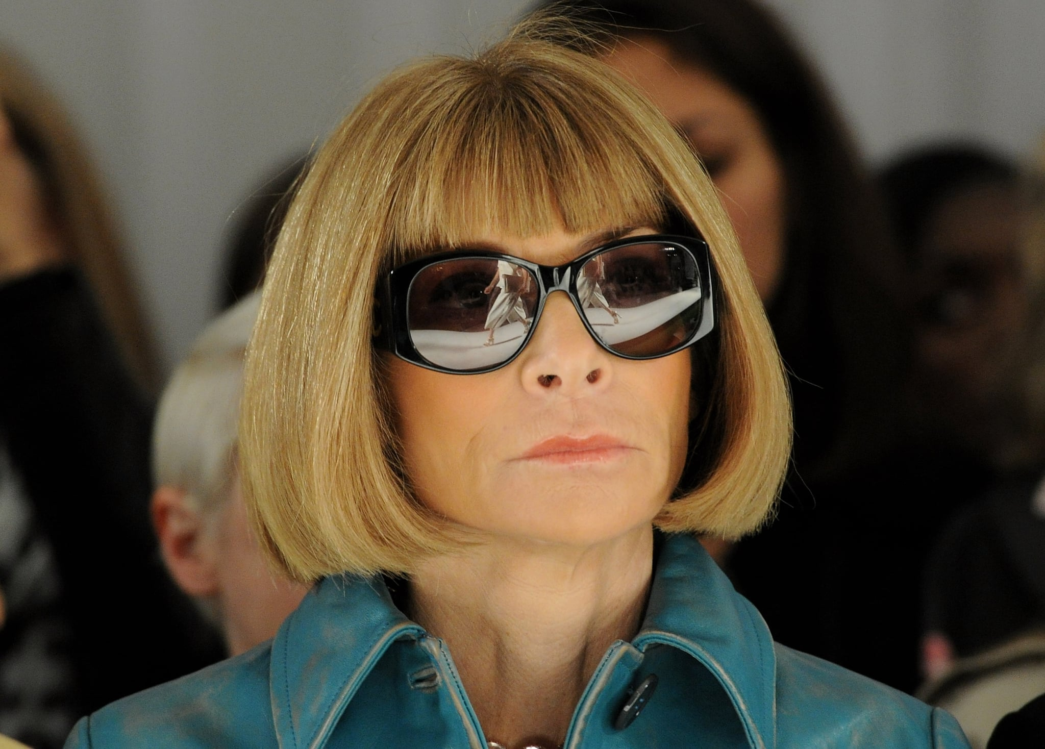 Anna Wintour at Mulberry.