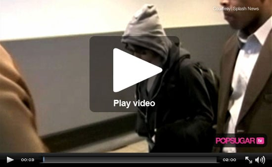 Video of Robert Pattinson and Kristen Stewart Together at LAX, Jay-Z Performing At World Series, Britney Spears Video for 3