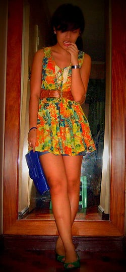 Look of the Day: Tropical Paradise