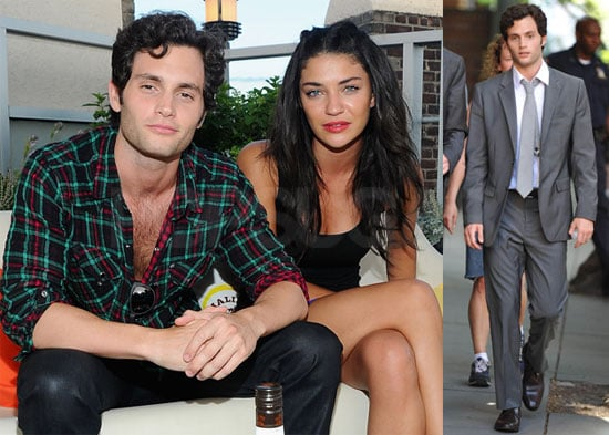 Pictures of Penn Badgley and Jessica Szohr