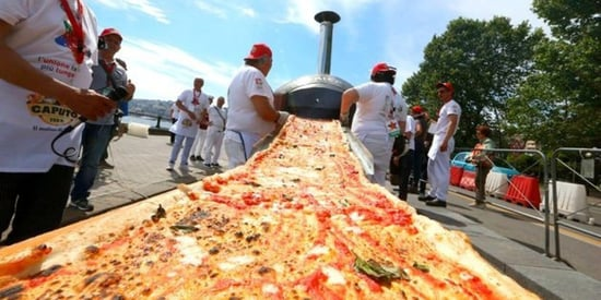 The Longest Pizza In The World Is Not For The Faint Of Heart