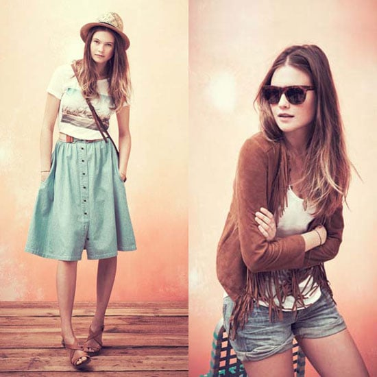 Madewell's May 2011 Lookbook Featuring Behati Prinsloo