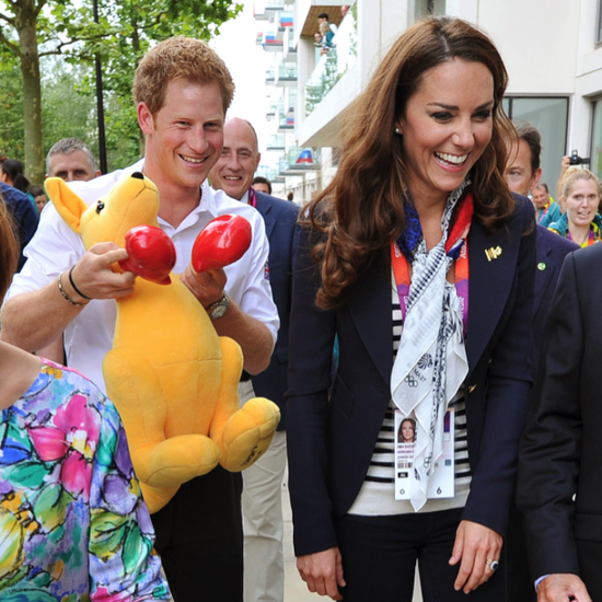 Prince Harry Jokes With Kate Middleton at the Olympics