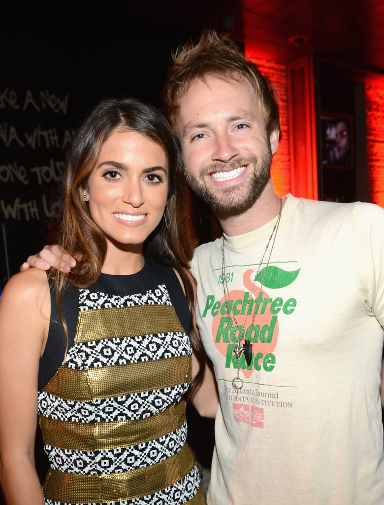 Nikki Reed and Paul McDonald stayed close at the Breaking Dawn Part 2 party at Comic-Con.