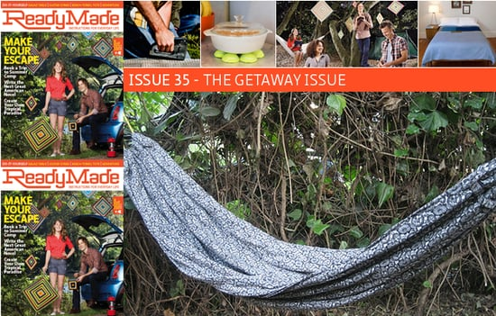 Cool Idea: ReadyMade Magazine's DIY Hammock