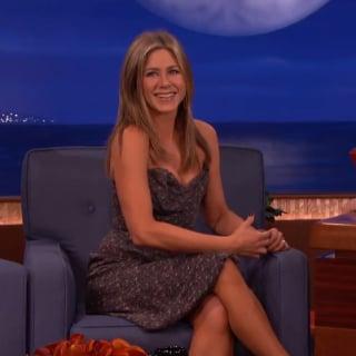 Jennifer Aniston Interview on Conan | Video