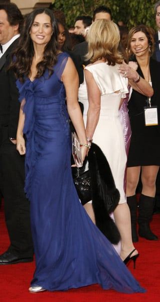 Demi Moore at the 2007 SAG Awards