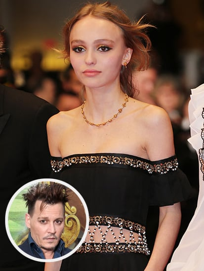 Johnny Depp's Visit to Daughter Lily-Rose in Paris Just Before Divorce News