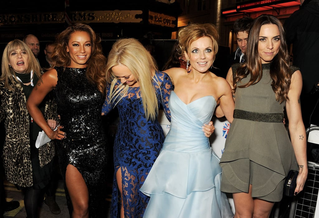 The Spice Girls reunited in London.