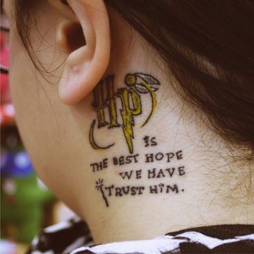 Harry Potter Tattoo Photos and Interviews