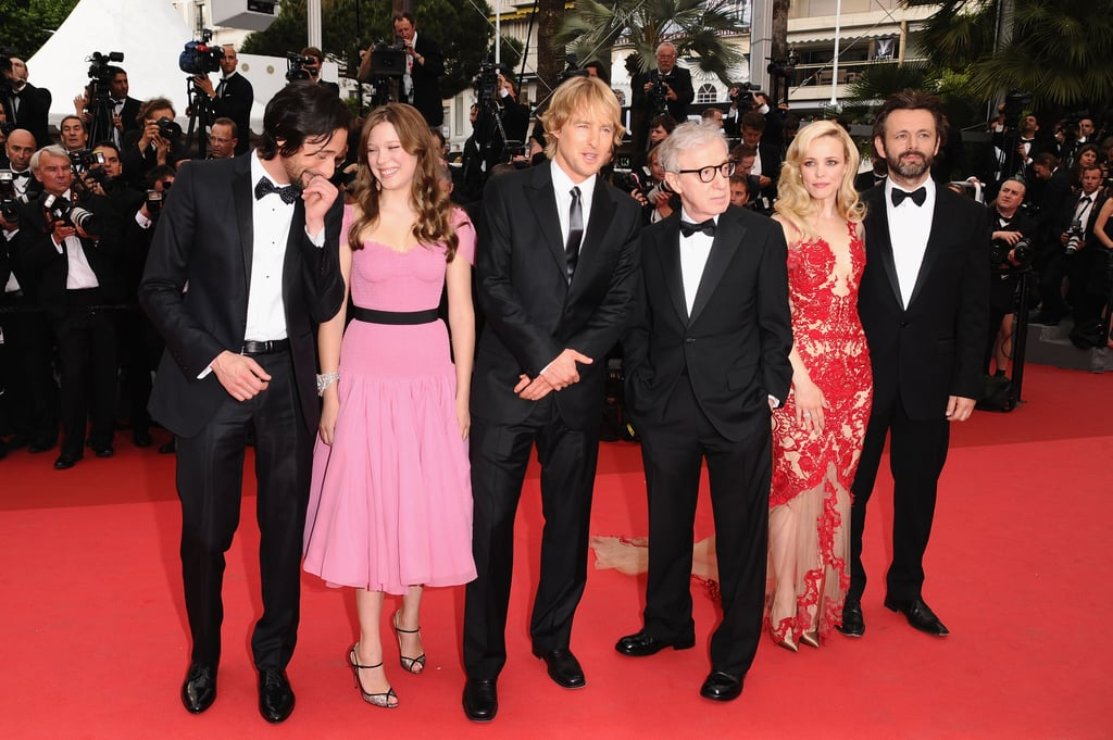 Rachel McAdams Wows on the Red Carpet and Michael Sheen's Arm at Cannes