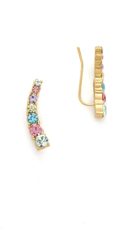 Kate Spade New York Dainty Sparklers Ear Crawlers ($48)